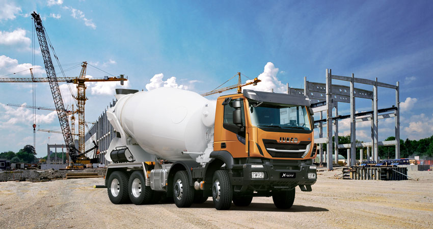 noul Stralis X-WAY Mixer