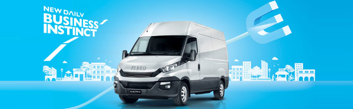 Noul Iveco Daily Electric